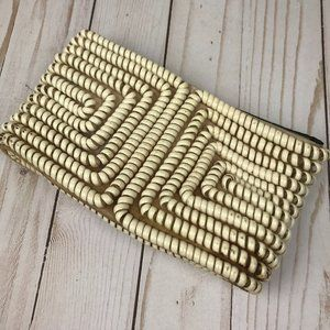 Vintage 1940s Telephone Cord Purse Coil Clutch